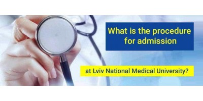 What is the procedure for admission at Lviv National Medical University?