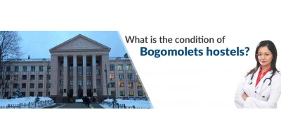 What is the condition of Bogomolets hostels?