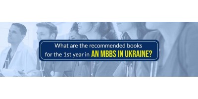 What are the recommended books for the 1st year in an MBBS in Ukraine?