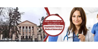 What is Medium of Instruction in Bogomolets National Medical University?