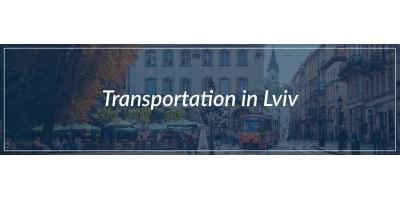 Transportation in Lviv
