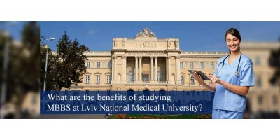 What are the benefits of studying MBBS at Lviv National Medical University?